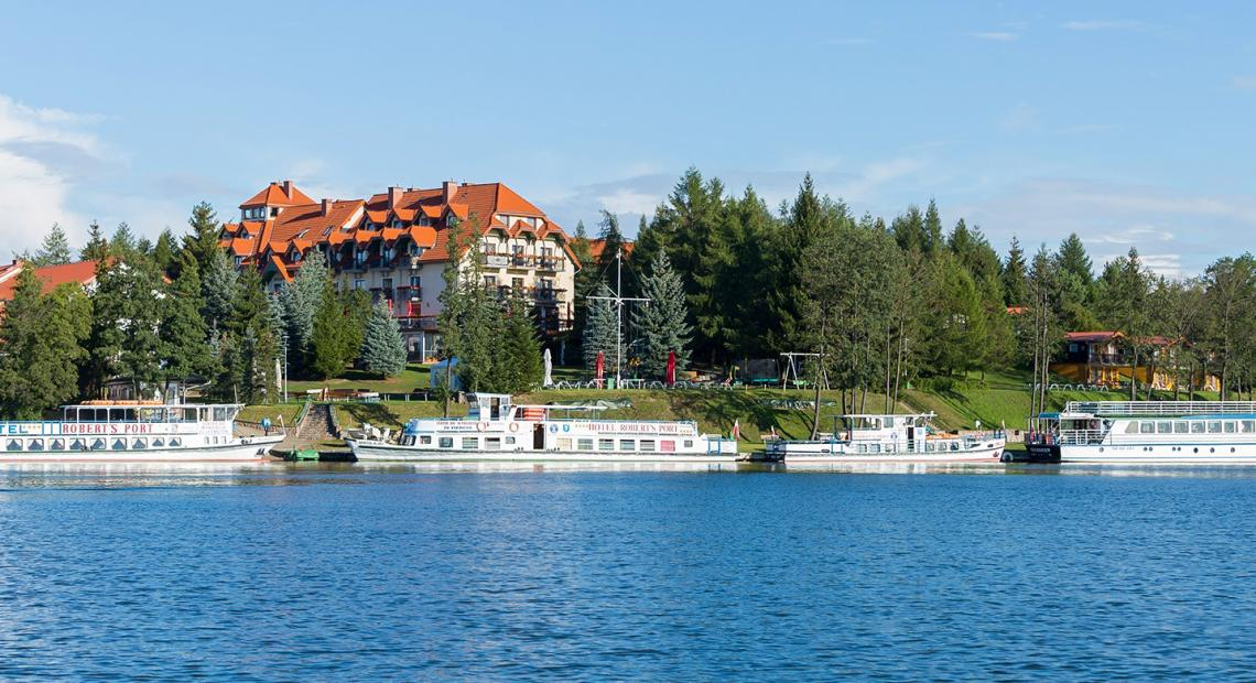 Hotel Robert's Port **** Lake Resort & SPA , Mikołajki